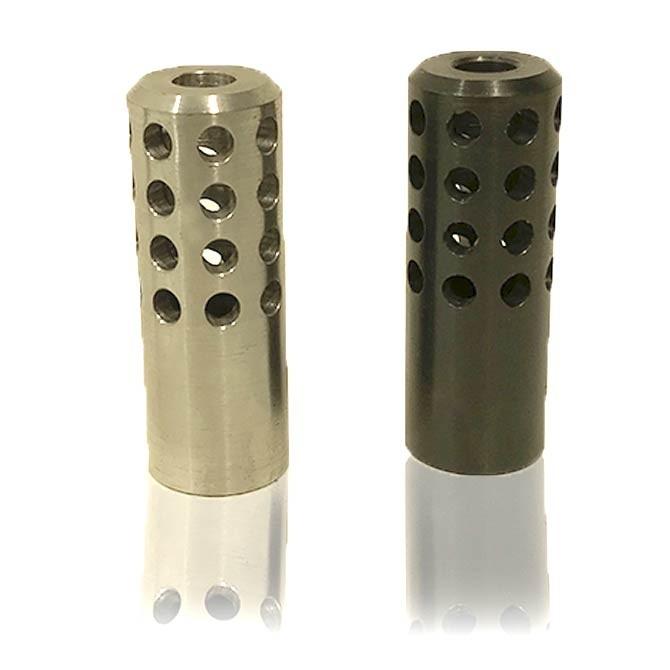 Frein de bouche pour carabine 22 lr à canon lourd
