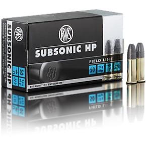Balles Rws 22lr subsonic HP