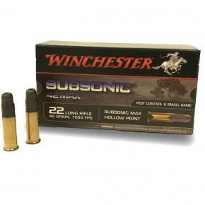 Balles winchester subsonic 42 max