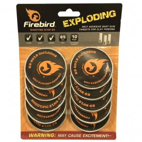 Cibles explosives Firebird Shooting Star 65 mm