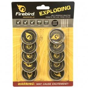 Cibles explosives Firebird Sniperfire 40 mm