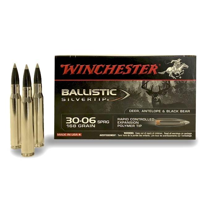 Balles Winchester 30-06168 Gr Silvertip