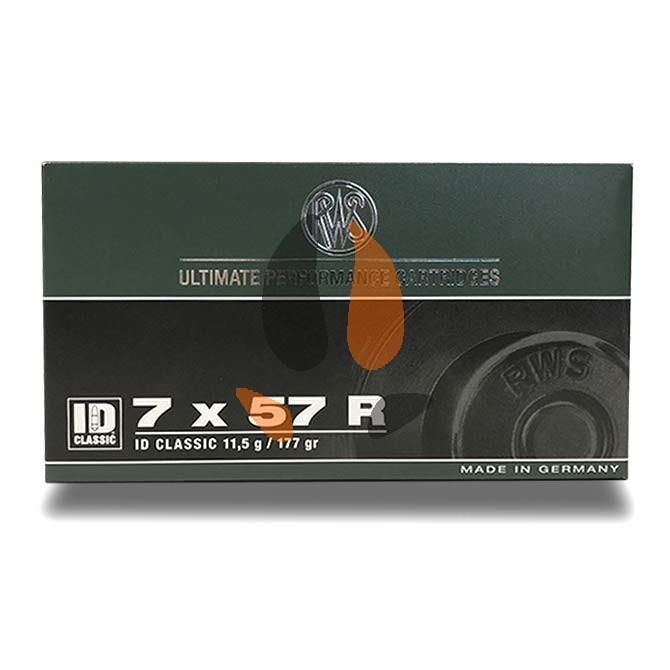 Rws Id Classic pointe conique Cal. 7x57 R 177Gr 11.5 g