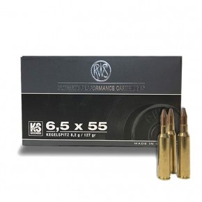 Balles Rws Pointe Conique Calibre 6.5x55