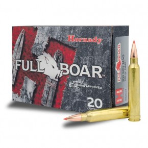 Balles Hornady Full Boar Cal. 300 Win Mag 165 Gr