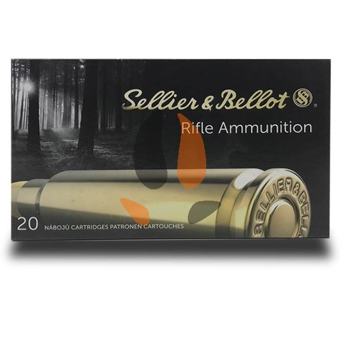 Balles Sellier & Bellot 9.3X74R Soft-Point 285grs - 18.5 g
