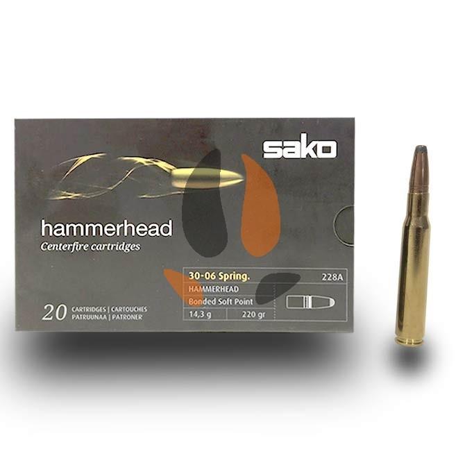 Balles SAKO 30-06 Hammerhead 14.3 g - 220grs