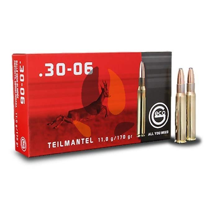 Balles Geco Ogive T-Mantel Cal. 30x06 1/2 blindées