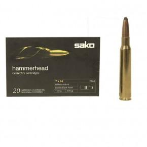 Balles Sako 7x64 Hammerhead 11 g - 170 grs