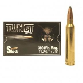 Balles Tunet Métal 300 Win Mag Shock 11 g - 170 grs
