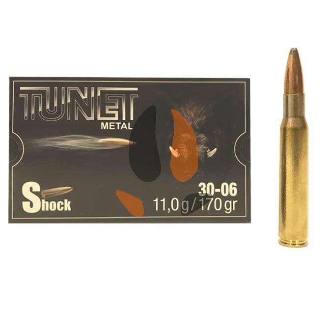 Balles Tunet Métal 30-06 Shock 11 g - 170 grs