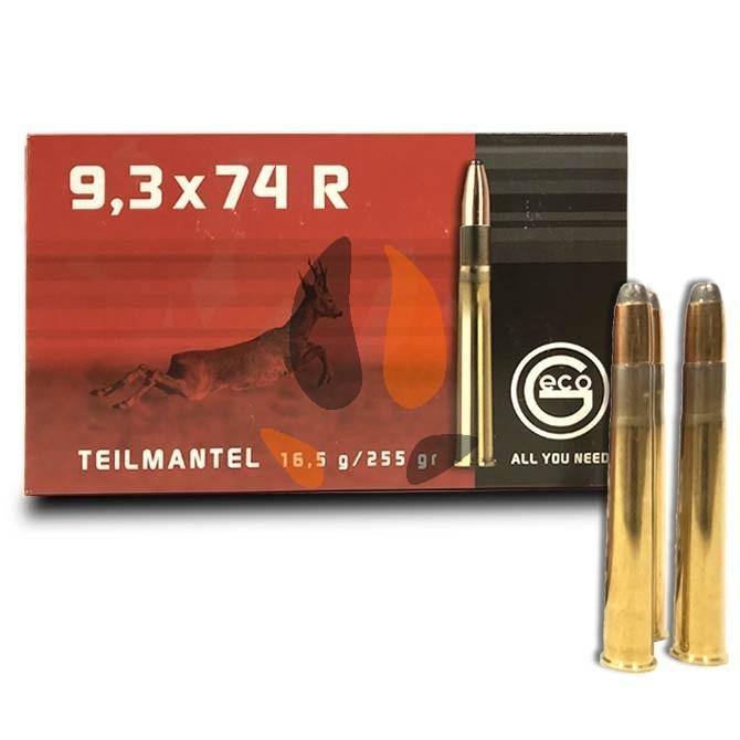 Balles Geco Cal. 9.3x74R Teilmantel Soft Point Bullet