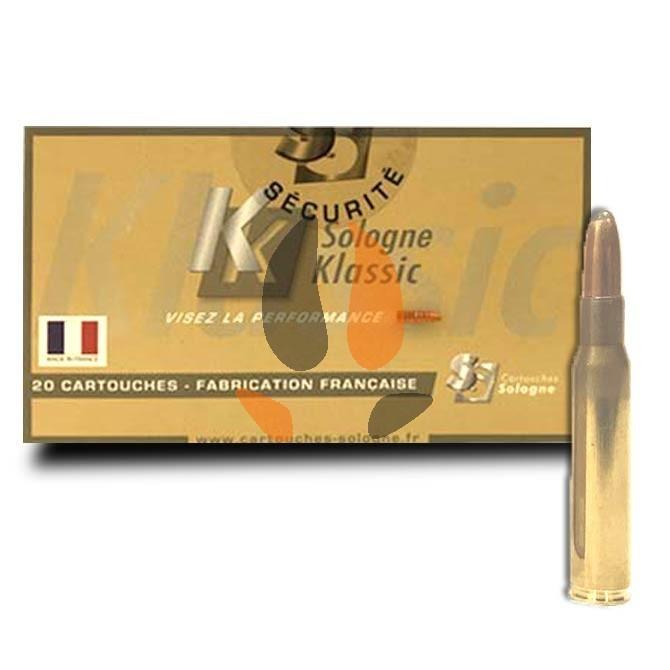 Balles Sologne Klassic 30-06 Subsonique 220 gr - 14.3 g