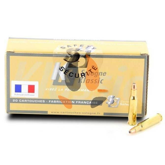 Balles Sologne Klassic 22x250 Rem Subsoniques 45 grs - 2.9 g