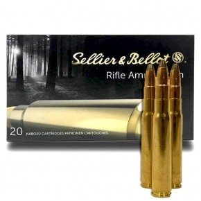 Balles Sellier & Bellot Calibre 8x57 JS Soft Point