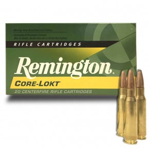 Balles Remington 308 Win Core-lokt 150 Grs Pointed Soft Point