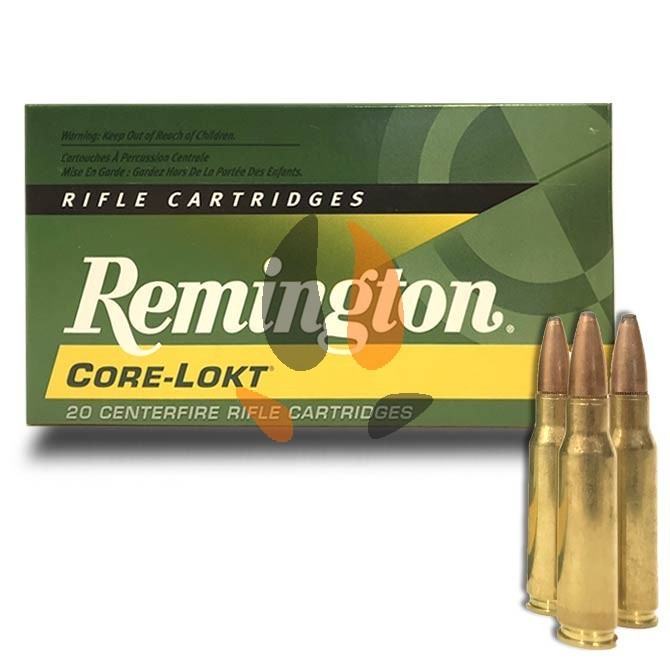 Balles Remington 270 Wsm 130 Grs Core-Lokt Pointed Soft Point