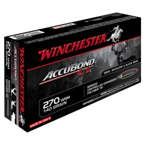 Balles winchester 270 Win Accubond CT 140 grs