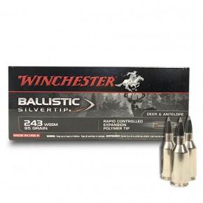 Balles Winchester 243 Wssm 95GR Ballistic Silvertip