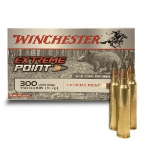 Balles Winchester 300 Win Extreme Point 150 Gr