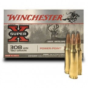 Balles Winchester 308 Win Power Point 180 Grs