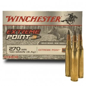 Balles WInchester 270 Win Extreme Point 130 Grs