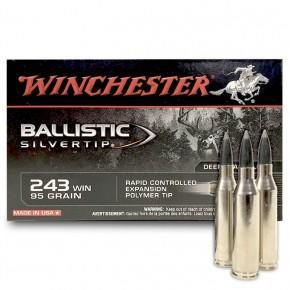 Balles Winchester 243 Win Ballistic Silvertip 95 Grs