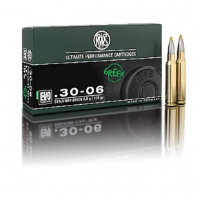 Balles RWS Calibre 7 Rem Evolution Green 127 Gr 8.2 g