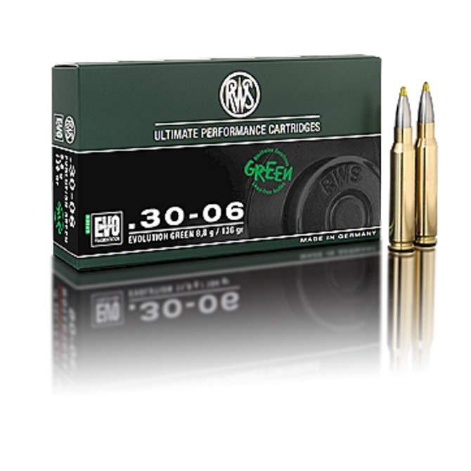 Balles RWS Calibre 7 Rem Evolution Green 127 Gr 8.2 g