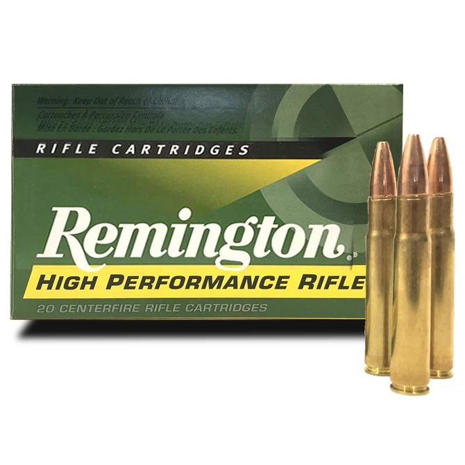 Munitions Remington 35 Whelen Pointed Soft Point 250 Gr