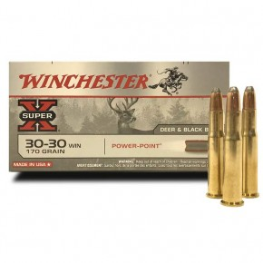 Balle Winchester 30-30 Win Power Point 170 Grs