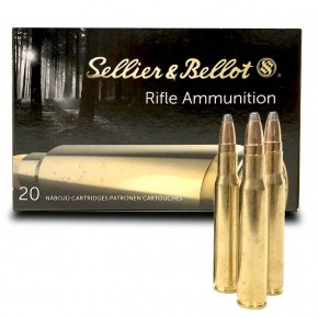 Munitions Sellier & Bellot .30-06 SPCE 180 Grs