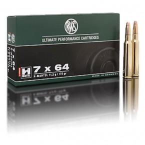 Balles RWS 7x64 H-Mantel 173 Grs