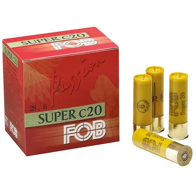 Cartouches de chasse Fob super 28 calibre 20
