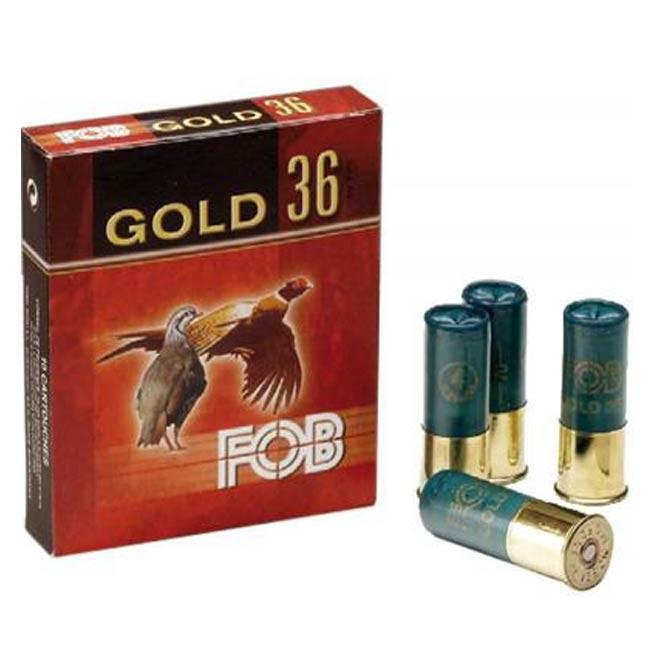 Cartouche Fob Gold 36 calibre 16