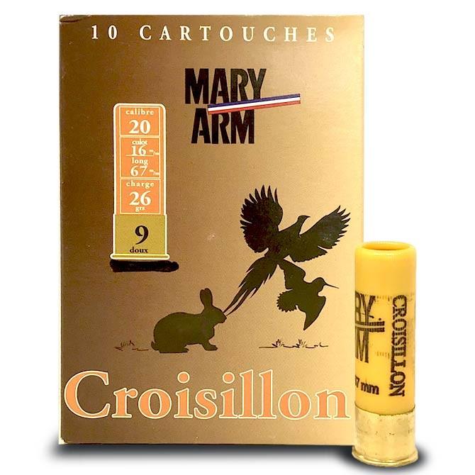 Cartouche Mary Arm Croisillon Calibre 20
