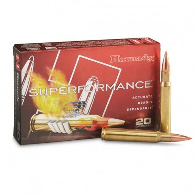 Munition Hornady Superformance .30-06 Sprg