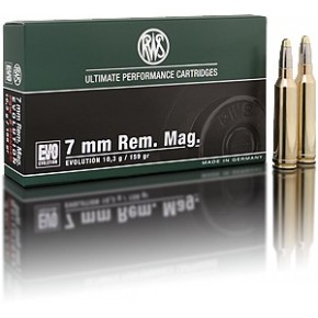 Rws 7mm Rem Mag 159GR 10.3G Evolution