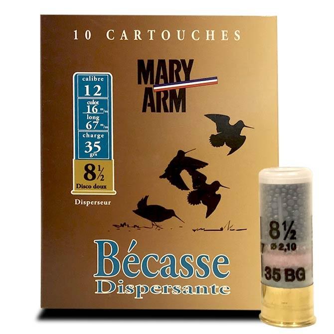 Cartouche Mary Arm Bécasse Calibre 12