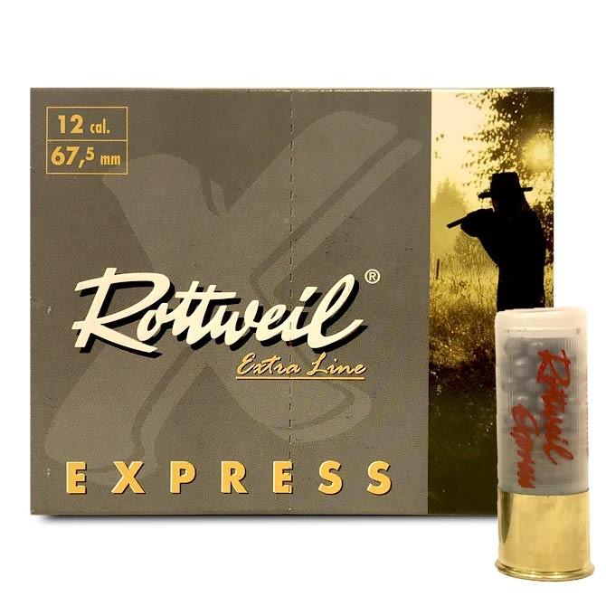 Cartouches Rottweil Express Calibre 12