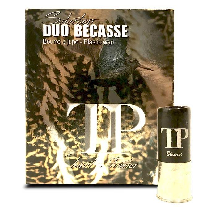 Cartouche Tunet TP duo Bécasse Calibre 12