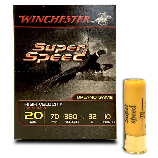 Cartouches Winchester Super Speed G2 calibre 20