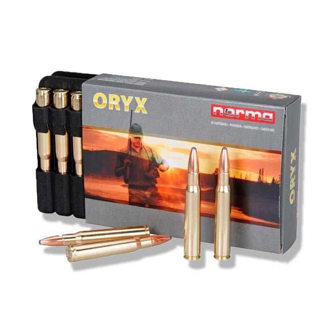 Balles Norma 22-250 Oryx 55 grains