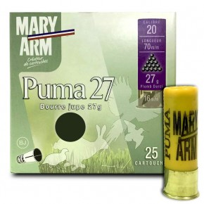 Cartouche Mary Arm Puma 27 calibre 20