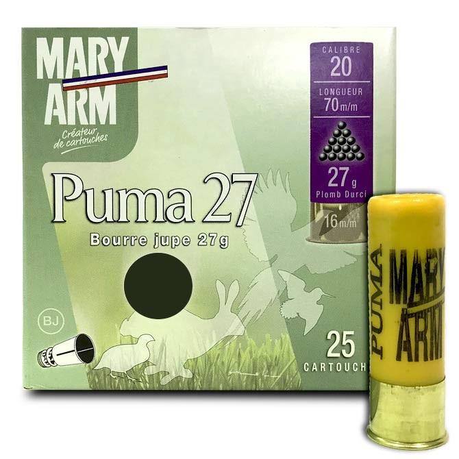 Cartouche Mary Arm Puma 27 calibre 20