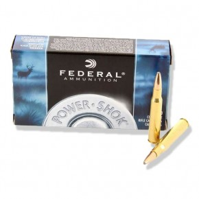 Balles Federal 222 Remington Power-Shok SP 50 gr