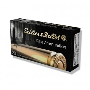 Balles Sellier-Bellot 22-250 Rem SBT 55 gr