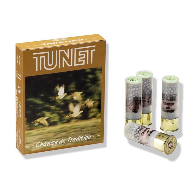Cartouches Tunet Chasse de Tradition Cal 12