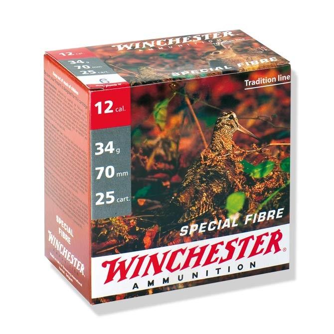 Cartouches Winchester Spécial Fibre cal 12