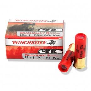 Cartouches Winchester Buckshot chevrotines cal 12